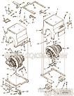 【热屏蔽支架】康明斯CUMMINS柴油机的4970824 热屏蔽支架