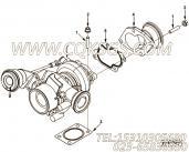 【涡轮增压器密封垫】康明斯CUMMINS柴油机的4941185 涡轮增压器密封垫