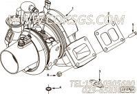 【涡轮增压器】康明斯CUMMINS柴油机的4036847 涡轮增压器