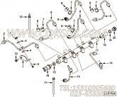 【燃油供应管】康明斯CUMMINS柴油机的2830557 燃油供应管