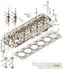 【发动机6LTAA8.9-C240的气缸盖组】 康明斯缸盖密封垫报价,参数及图片