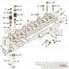 【柴油机6CT8.3-C215的气缸盖组】 康明斯气缸盖组合件报价,参数及图片