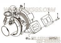 【涡轮增压器】康明斯CUMMINS柴油机的4043145 涡轮增压器
