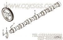 【凸轮轴】康明斯CUMMINS柴油机的4094069 凸轮轴