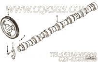 【凸轮轴】康明斯CUMMINS柴油机的3934168 凸轮轴