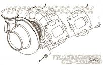 【涡轮增压器】康明斯CUMMINS柴油机的4043580 涡轮增压器