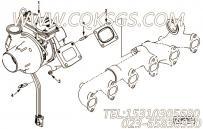 【涡轮增压器】康明斯CUMMINS柴油机的4048606 涡轮增压器