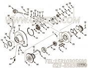【压气机壳体】康明斯CUMMINS柴油机的4036093 压气机壳体