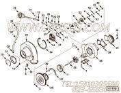 【压气机壳体】康明斯CUMMINS柴油机的4039620 压气机壳体