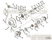 【压气机壳体】康明斯CUMMINS柴油机的4038095 压气机壳体