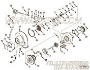 【软管】康明斯CUMMINS柴油机的4040630 软管