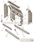 108707六角螺栓,用于康明斯KT38-P780柴油发动机空气滤清器组,更多【应急水泵机组】配件报价