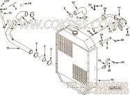 【水进口管】康明斯CUMMINS柴油机的3282238 水进口管