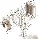 【风扇外罩】康明斯CUMMINS柴油机的C0130307200 风扇外罩