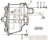【发动机ISB3.9-140E40A的发电机安装件组】 康明斯六角头螺栓报价,参数及图片