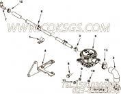 【肘软管接头】康明斯CUMMINS柴油机的3103864 肘软管接头