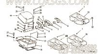 3039006摇臂室盖,用于康明斯KTA19-M640动力曲轴箱通风位置组,更多【船舶用】配件报价