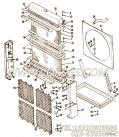 【散热器格栅支架】康明斯CUMMINS柴油机的3003865 散热器格栅支架