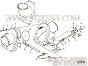 【软管】康明斯CUMMINS柴油机的107462 软管