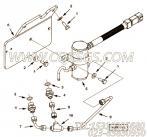 【传感器支架】康明斯CUMMINS柴油机的4968633 传感器支架