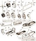 【发电机皮带轮】康明斯CUMMINS柴油机的154806 发电机皮带轮