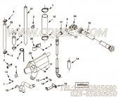【空气管】康明斯CUMMINS柴油机的4086545 空气管