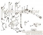 【柔性软管】康明斯CUMMINS柴油机的4086525 柔性软管