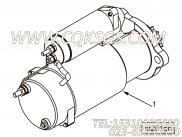 用于进口ISM11发动机起动马达