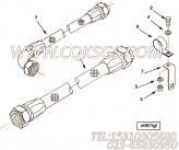 3628554管架,用于康明斯KTA38-C1200柴油发动机管路组,更多【供液泵车】配件报价