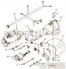 3633246单向阀,用于康明斯KTA38-C1050柴油发动机起动马达组,更多【山东公路拌合机】配件报价