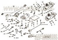【泵架】康明斯CUMMINS柴油机的3637970 泵架