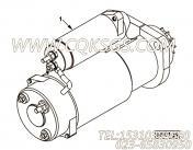 【柴油机6CTAA8.3-C260的起动机组】 康明斯起动机报价,参数及图片