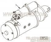 【柴油机6CTA8.3-M188的起动机组】 康明斯起动机报价,参数及图片