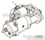 【C4942446】起动机 用在康明斯柴油发动机