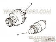 66501起动开关,用于康明斯NTA855-P400发动机起动开关组,更多【应急水泵机组】配件报价