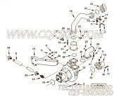 3393521O型密封圈,用于康明斯KTA38-M1柴油发动机海水泵组,更多【船用】配件报价