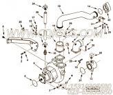 3632855海水泵支架,用于康明斯KTA38-M1柴油发动机海水泵组,更多【船舶】配件报价