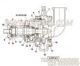【O型环泵壳体】康明斯CUMMINS柴油机的4019466 O型环泵壳体