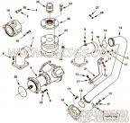 【重型六角螺帽】康明斯CUMMINS柴油机的70453 重型六角螺帽