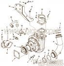 3866613六角螺拴,用于康明斯KTA38-M1柴油发动机海水泵组,更多【船舶】配件报价