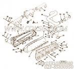 3040793抱箍,用于康明斯M11-C350主机进气连接布置组,更多【轨道车】配件报价