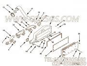 【空气交叉管】康明斯CUMMINS柴油机的3090800 空气交叉管