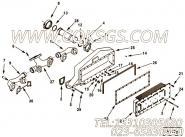 【空气交叉管】康明斯CUMMINS柴油机的3099143 空气交叉管