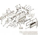 【空气交叉管】康明斯CUMMINS柴油机的3349039 空气交叉管