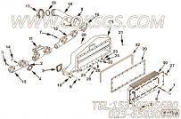 【空气交叉管】康明斯CUMMINS柴油机的3090799 空气交叉管