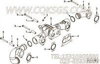 【排气歧管】康明斯CUMMINS柴油机的3683835 排气歧管