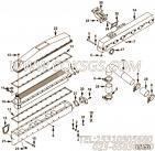 【空气交叉管】康明斯CUMMINS柴油机的4063047 空气交叉管