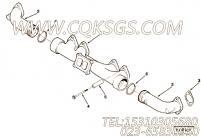 3818124安装隔套,用于康明斯M11-310动力排气管组,更多【轮船用】配件报价