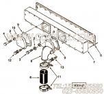 【接头密封垫】康明斯CUMMINS柴油机的3028539 接头密封垫