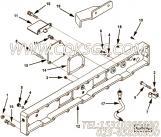 3335623隔热板,用于康明斯ISM450主机增压器布置组,更多【轮船用】配件报价